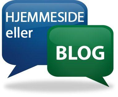 hjemmeside eller blog?